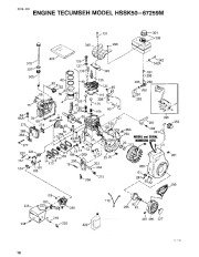 Toro 38054 521 Snowthrower Parts Catalog, 1994 page 10