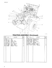 Toro 38054 521 Snowthrower Parts Catalog, 1994 page 4