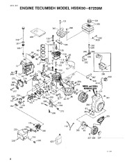 Toro 38054 521 Snowthrower Parts Catalog, 1994 page 8