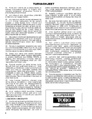 Toro 38045 524 Snowthrower Owners Manual, 1982, 1983, 1984, 1985, 1986 page 4