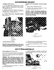 Toro 38045 524 Snowthrower Owners Manual, 1982, 1983, 1984, 1985, 1986 page 8