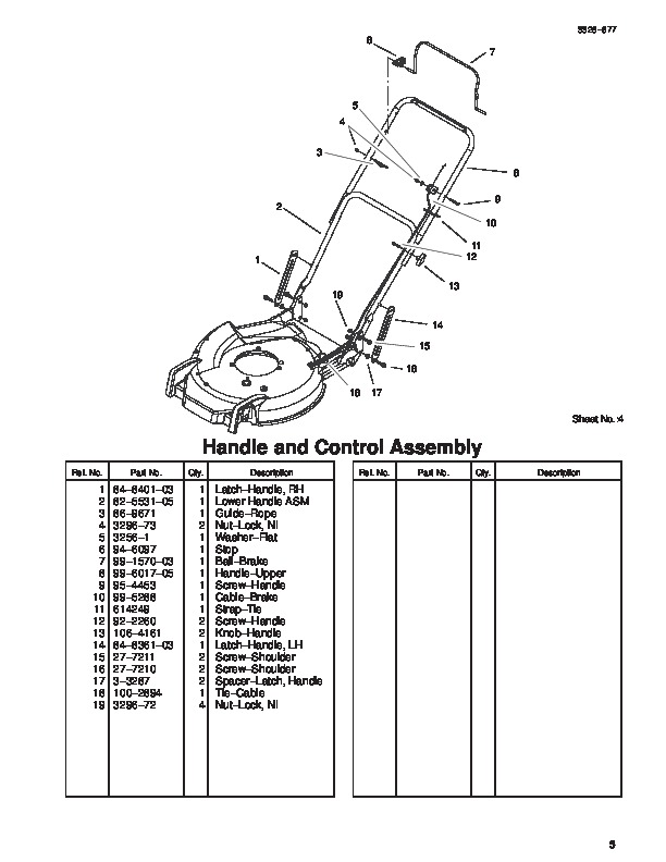 toro lawn mower parts manual