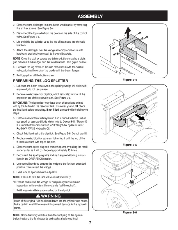 craftsman 247 77614 675 series log splitter owners manual rh lawn garden filemanual com Pull Behind Log Splitter Huskee Log Splitter Log Catcher