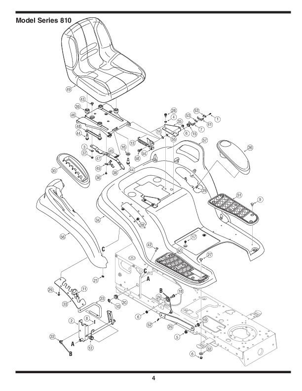 Mtd Huskee Lawn Tractor Manual : Mtd hydrostatic lawn tractor mower parts list