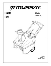 snow blower manuals page 7 rh filemanual com murray snow blower manual 621450x4c murray snowblower manual owner's manual