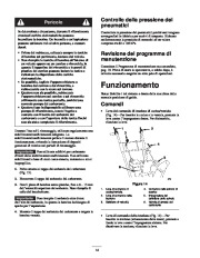 Toro 38053 824 Power Throw Snowthrower Manuale Utente, 2003 page 14