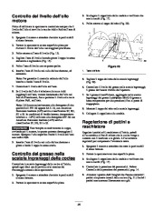 Toro 38053 824 Power Throw Snowthrower Manuale Utente, 2003 page 20
