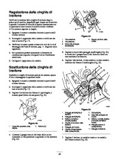Toro 38053 824 Power Throw Snowthrower Manuale Utente, 2003 page 22