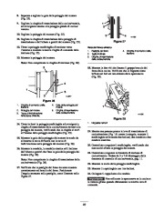 Toro 38053 824 Power Throw Snowthrower Manuale Utente, 2003 page 23