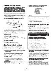 Toro 38053 824 Power Throw Snowthrower Manuale Utente, 2003 page 26