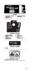 Toro 38053 824 Power Throw Snowthrower Manuale Utente, 2003 page 8