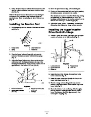 Toro 38053 824 Snowthrower Owners Manual, 2000, 2001 page 11