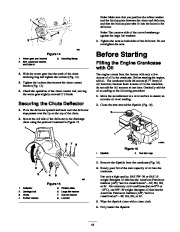 Toro 38053 824 Snowthrower Owners Manual, 2000, 2001 page 13