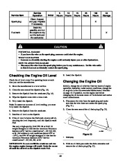 Toro 38053 824 Snowthrower Owners Manual, 2000, 2001 page 20