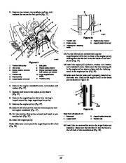 Toro 38053 824 Snowthrower Owners Manual, 2000, 2001 page 22