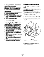 Toro 38053 824 Snowthrower Owners Manual, 2000, 2001 page 25