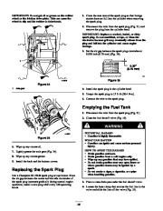 Toro 38053 824 Snowthrower Owners Manual, 2000, 2001 page 26