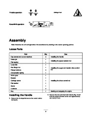 Toro 38053 824 Snowthrower Owners Manual, 2000, 2001 page 9