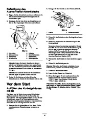Toro 38053 824 Snowthrower Laden Anleitung, 2000, 2001 page 14