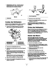 Toro 38053 824 Snowthrower Laden Anleitung, 2000, 2001 page 17