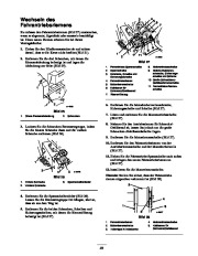Toro 38053 824 Snowthrower Laden Anleitung, 2000, 2001 page 23