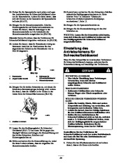 Toro 38053 824 Snowthrower Laden Anleitung, 2000, 2001 page 24