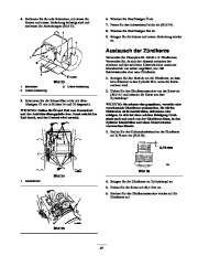 Toro 38053 824 Snowthrower Laden Anleitung, 2000, 2001 page 27