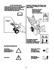 Toro 38053 824 Snowthrower Laden Anleitung, 2000, 2001 page 6