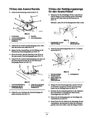 Toro 38053 824 Power Throw Snowthrower Laden Anleitung, 2002 page 13