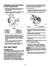 Toro 38053 824 Power Throw Snowthrower Laden Anleitung, 2002 page 14