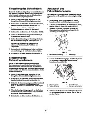 Toro 38053 824 Power Throw Snowthrower Laden Anleitung, 2002 page 23