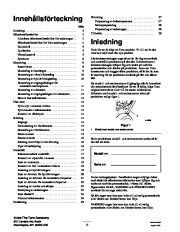 Toro 38053 824 Snowthrower Owners Manual, 2000, 2001 page 2