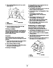 Toro 38053 824 Snowthrower Owners Manual, 2000, 2001 page 23