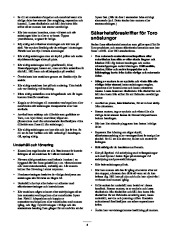 Toro 38053 824 Snowthrower Owners Manual, 2000, 2001 page 4