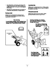 Toro 38053 824 Snowthrower Owners Manual, 2000, 2001 page 5
