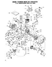 Toro 38040 524 Snowthrower Parts Catalog, 1979 page 10