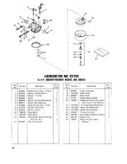 Toro 38040 524 Snowthrower Parts Catalog, 1979 page 14