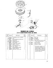 Toro 38040 524 Snowthrower Parts Catalog, 1979 page 15