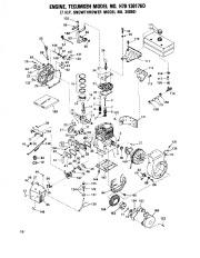 Toro 38040 524 Snowthrower Parts Catalog, 1979 page 16