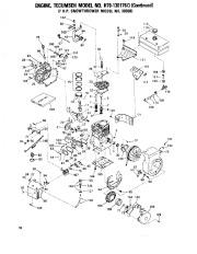 Toro 38040 524 Snowthrower Parts Catalog, 1979 page 18