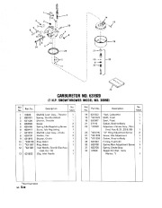 Toro 38040 524 Snowthrower Parts Catalog, 1979 page 20