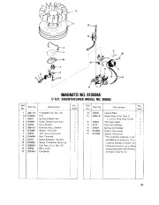 Toro 38040 524 Snowthrower Parts Catalog, 1979 page 21