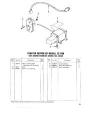 Toro 38040 524 Snowthrower Parts Catalog, 1979 page 23