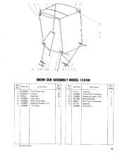 Toro 38040 524 Snowthrower Parts Catalog, 1979 page 25