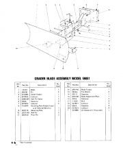 Toro 38040 524 Snowthrower Parts Catalog, 1979 page 26