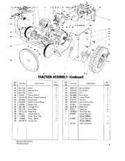 Toro 38040 524 Snowthrower Parts Catalog, 1979 page 5