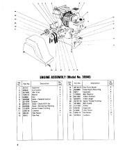 Toro 38040 524 Snowthrower Parts Catalog, 1979 page 6