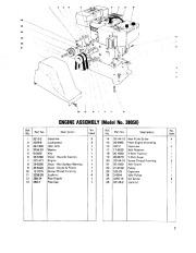 Toro 38040 524 Snowthrower Parts Catalog, 1979 page 7