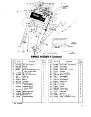 Toro 38040 524 Snowthrower Parts Catalog, 1979 page 9