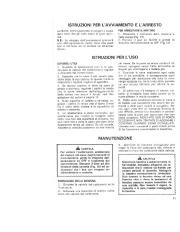 Toro 38052C 521 Snowthrower Manuale Utente, 1989 page 11